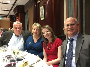 Prof Gunnar Kahlmeter, Professor of Bacteriology & EUCAST Committee, Sweden; Dr Breida Boyle, Consultant Microbiologist, St James's Hospital, Dublin; Dr Maeve Doyle, Consultant Microbiologist, Waterford University Hospital; Prof Fred Tenover, Professor of Pathology, Stanford University, USA