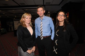 Dr Nuala O'Connell, Consultant Microbiologist, University Hospital Limerick, invited speaker, Colm McDonnell, Chief Medical Scientist, Univeristy Hospital Limerick, Dr Ciara O'Connor, SpR Microbiology
