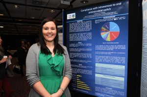 Ms Toni Anderson, Medical Student, with her poster project