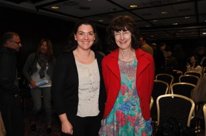 Sarah Dungan, Senior Medical Scientist and Dr Mary Hickey, Consultant Microbiologist, University Hospital Waterford